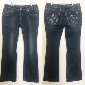 Rock Revival Deborah Easy Boot Jeans Size 30